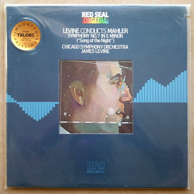 "Sealed/RCA Digital/Levine/Mahler - Symphony No.7 ""Song of the Night"""