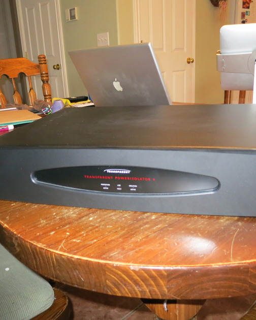 Transparent Power Isolator 4 Power Conditioner - Excellent!