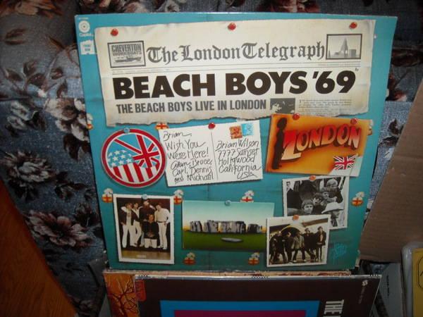 Beach boys - Live In London '69' capitol  lp (c)
