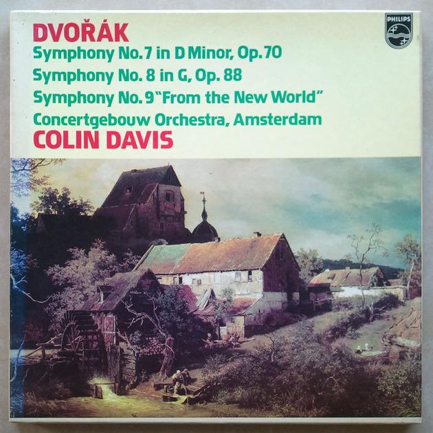 "Philips/Colin Davis/Dvorak - Symphonies Nos. 7, 8 , 9 ""From the new World"" / NM"