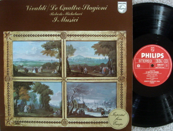 Philips / I MUSICI, - Vivaldi The Four Seasons, MINT!