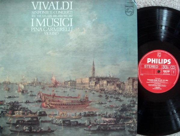 Philips / I MUSICI-CARMIRELLI, - Vivaldi Sinfonia & Concertos, MINT!