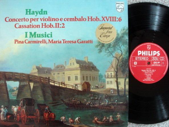 Philips / I MUSICI-CARMIRELLI, - Haydn Concerto for Violin & Cembalo, MINT!