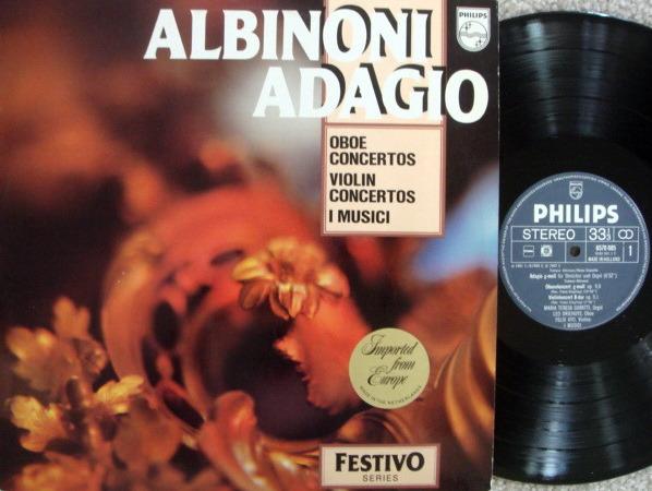 Philips / I MUSICI-AYO-HOLLIGER, - Albinoni Adagio, MINT!