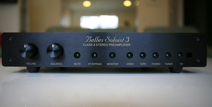 Belles Soloist 3 Class A Stereo Preamplifier