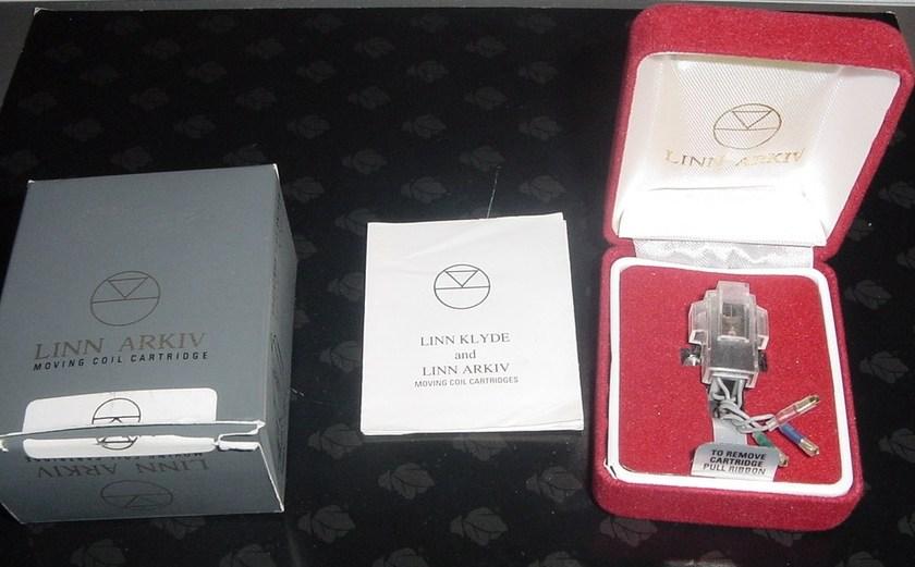 Linn Arkiv B rare MC cartridge Lyra made