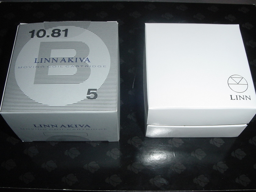 Linn Arkiv  rare cartridge  low hours Lyra made LOMC low output all boxes