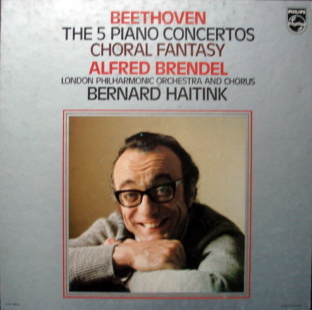 Philips / BRENDEL-HAITINK, - Beethoven Complete Piano Concertos, MINT, 5 LP Box Set!