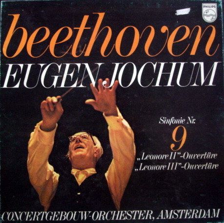 Philips / JOCHUM, - Beethoven Symphony No.9 Chorale,  NM, 2LP Box Set!