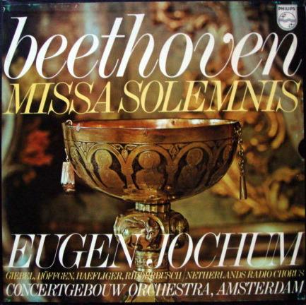 Philips / JOCHUM, - Beethoven Missa Solemnis,  MINT, 2 LP Set!