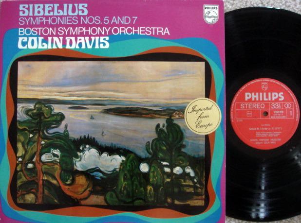 Philips / DAVIS, - Sibelius Symphony No.5 & 7, MINT!