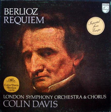 Philips / DAVIS, - Berlioz Requiem, MINT, 2LP Box Set!