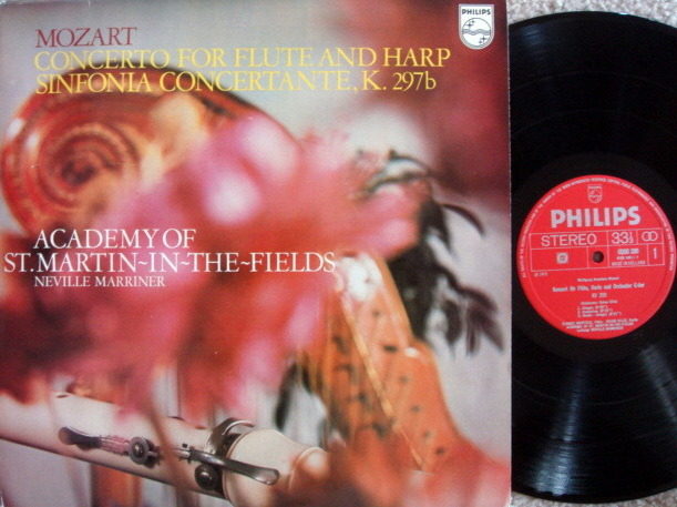 Philips / MARRINER, - Mozart Flute & Harp Concerto, MINT!