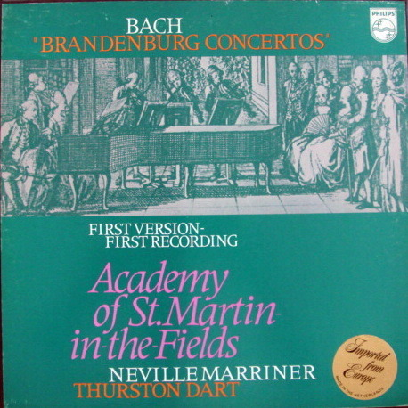Philips / MARRINER, - Bach 6 Brandenburg Concertos, MINT, 2LP Box Set!
