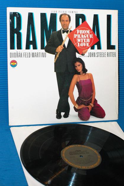 "DVORAK/Rampal -  - ""From Prague With Love"" -  CBS Masterworks 1982"