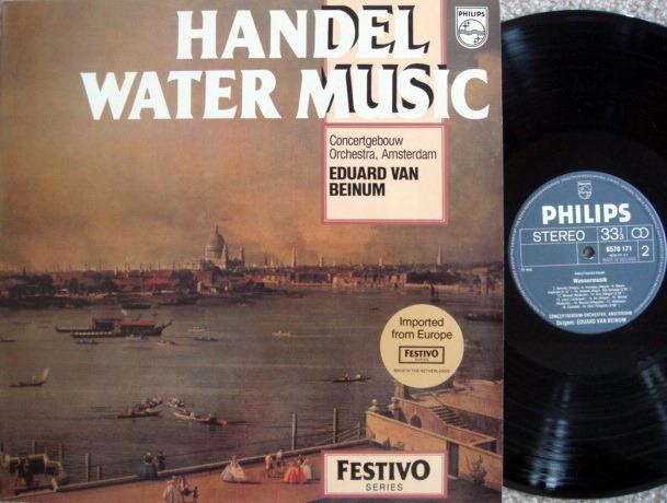 Philips / VAN BEINUM, - Handel Water Music, MINT!
