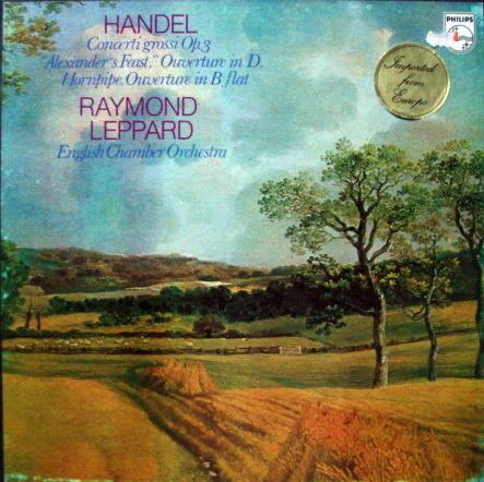 Philips / LEPPARD, - Handel Concerti Grossi Op.3, MINT, 2LP Box Set!