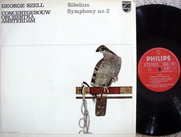 Philips / SZELL, - Sibelius Symphony No.2, MINT, Early Press!