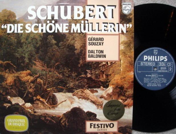 Philips / SOUZAY, - Schubert Die Schone Mullerin,  MINT!