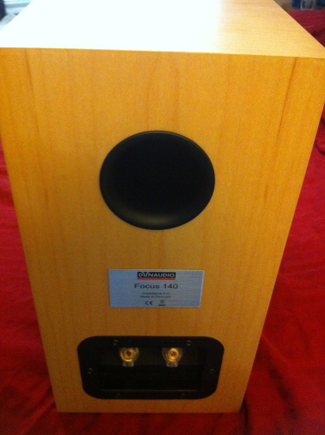 Dynaudio  Focus 140; Maple with  Silver Stand-4 Included!