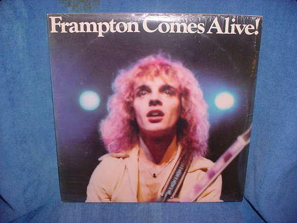 Peter Frampton - Comes Alive sealed a&m sp-3703 / 1976