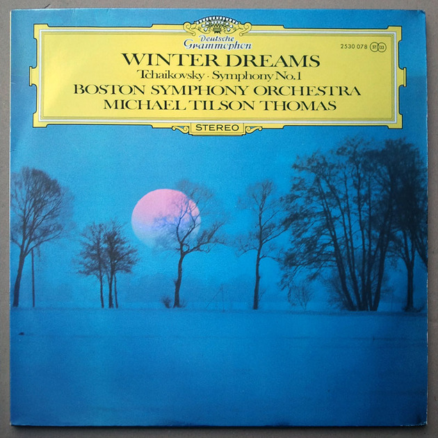 "DG/Tilson Thomas/Tchaikovsky - Symphony No.1 ""Winter Dreams"" / NM"