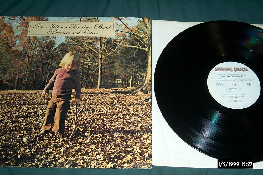 Allman Brothers Band - Brothers and Sisters LP NM First pressing