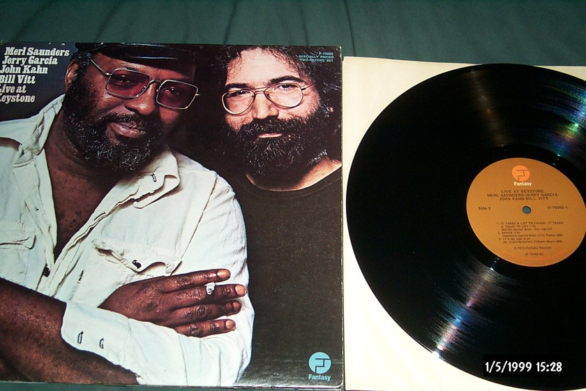 Merl Saunders/Jerry Garcia - Live At The Keystone 2 lp nm first pressing