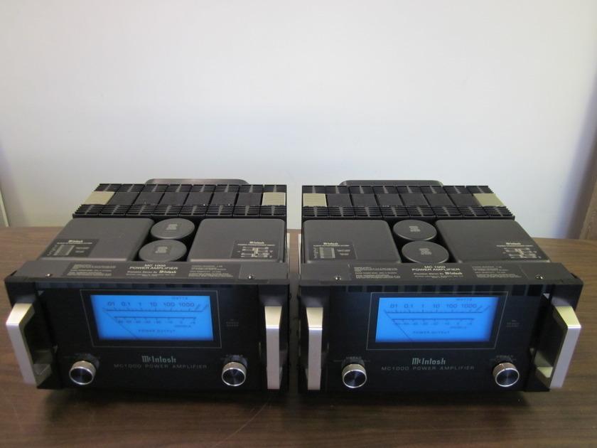 McIntosh MC-1000 Power Amplifier