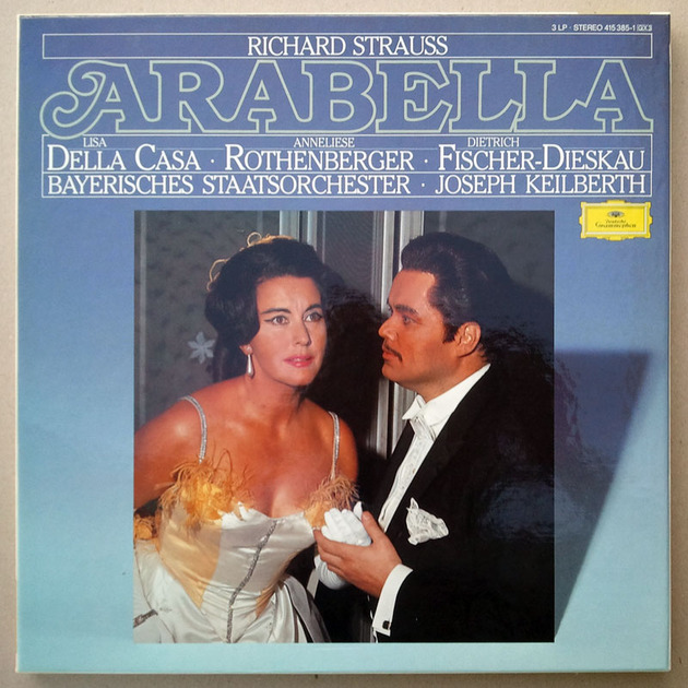 DG/Joseph Keilberth/Strauss - Arabella / 3-LP Box Set / NM