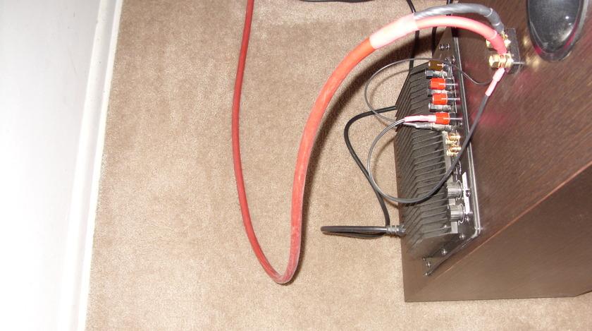 Van den hul Revelation 8' speaker cables