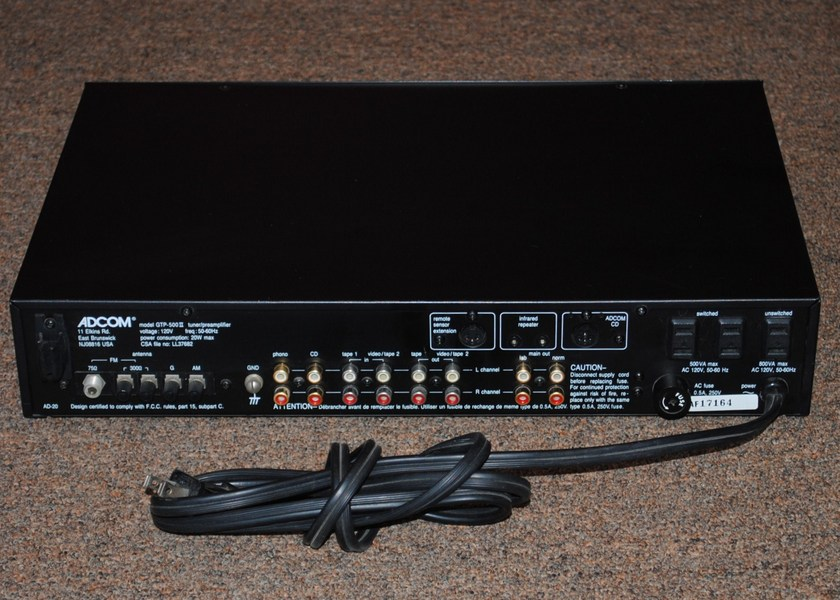Adcom GTP-500 MKII Preamp/Tuner