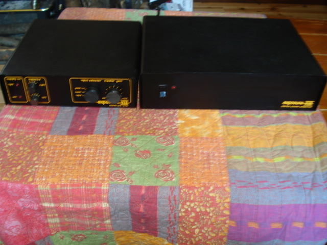 Exposure XVIII amp and VII preamp XVIII amp and VII preamp