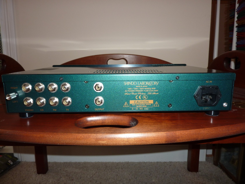SHINDO AURIEGES PREAMP WITH MM PHONO