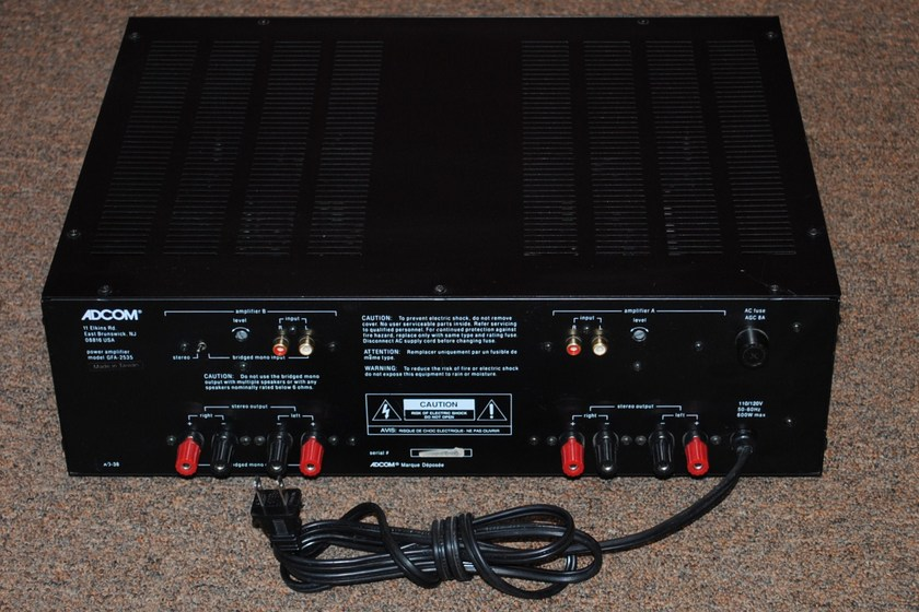 Adcom GFA-2535 4-Channel Amplifier