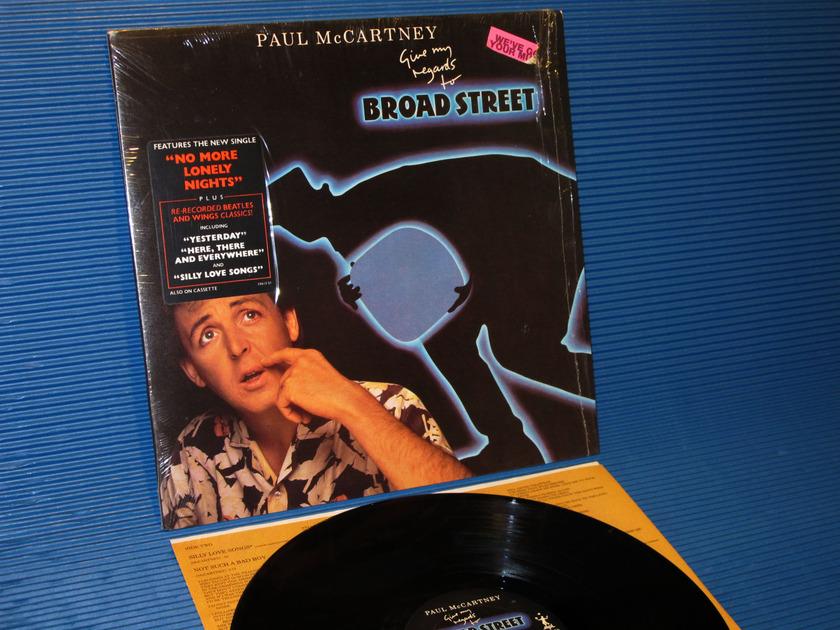 "PAUL MCCARTNEY -  - ""Broadstreet"" -  Columbia 1984 1st pressing"
