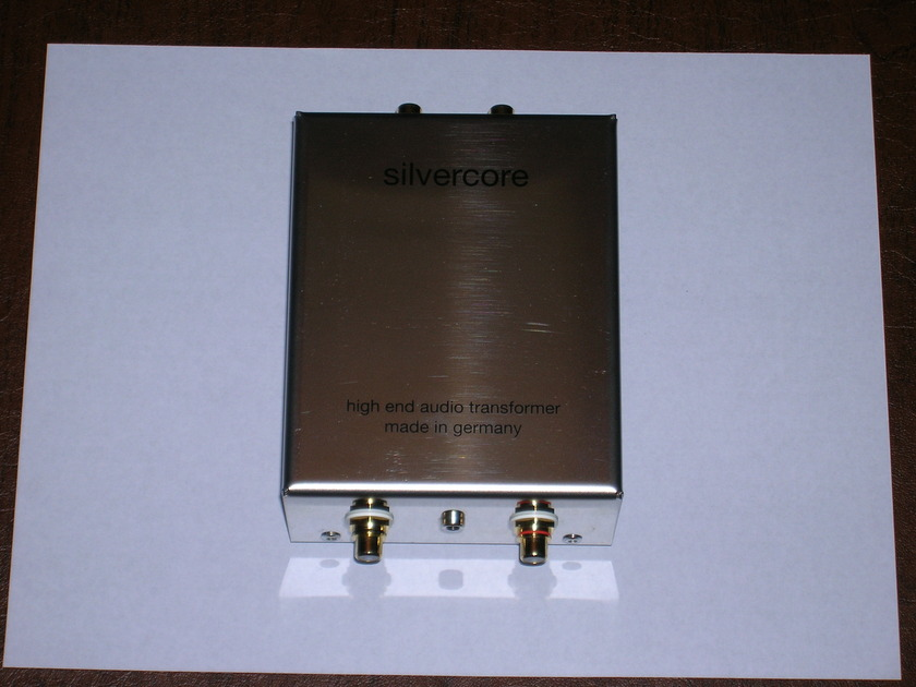 Silvercore One to Ten Moving Coil Transformer