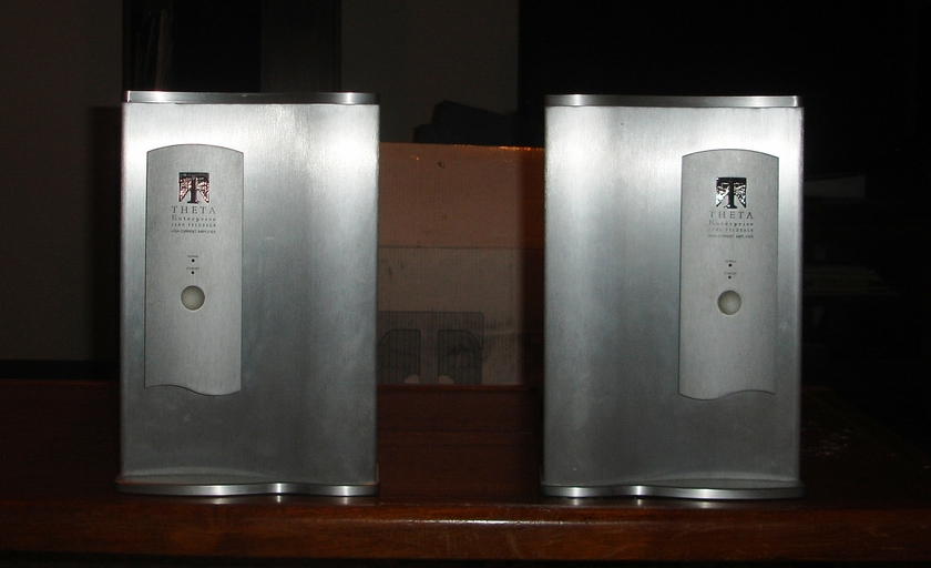 Theta Enterprise Monoblocks with Reich Binding Posts