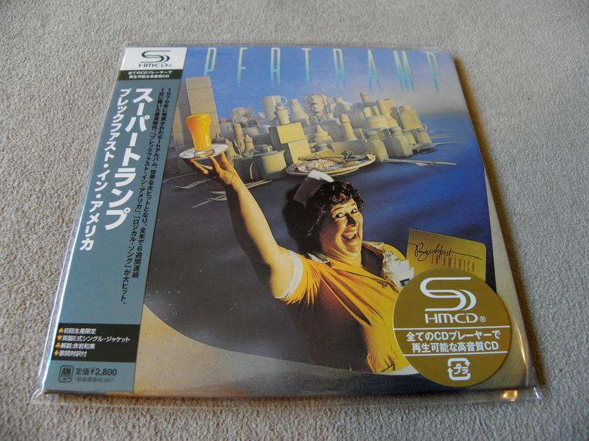 Supertramp Breakfast in America - Japan SHM Mini-LP Sleeve CD