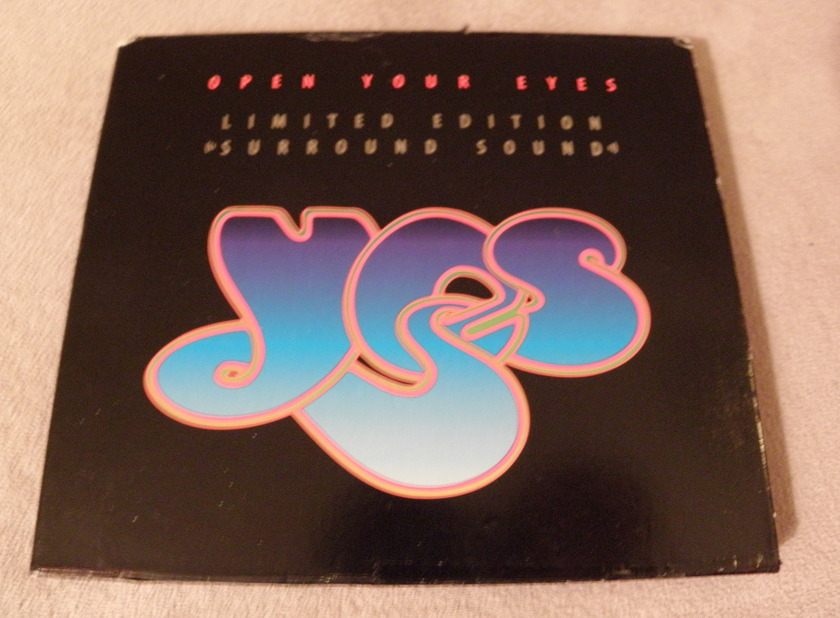 YES OPEN YOUR EYES LTD ED - SURROUND SOUND CD