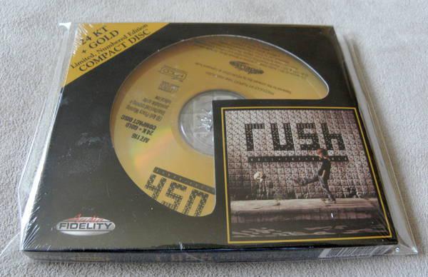 Rush Boll The Bones - HDCD audio fidelity gold cd new