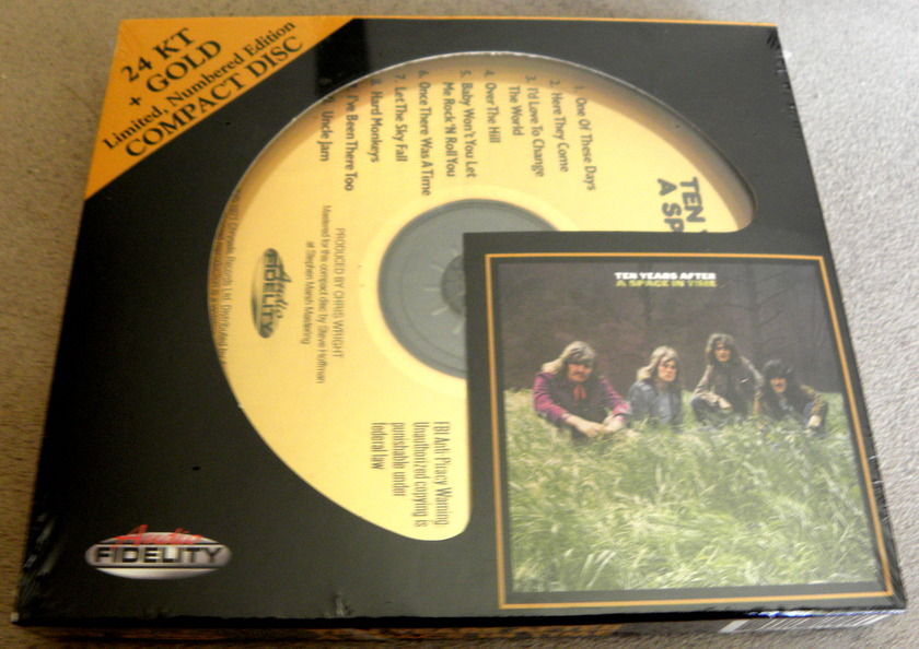 Ten Years After 24k - Gold Disc Audio fidelity new