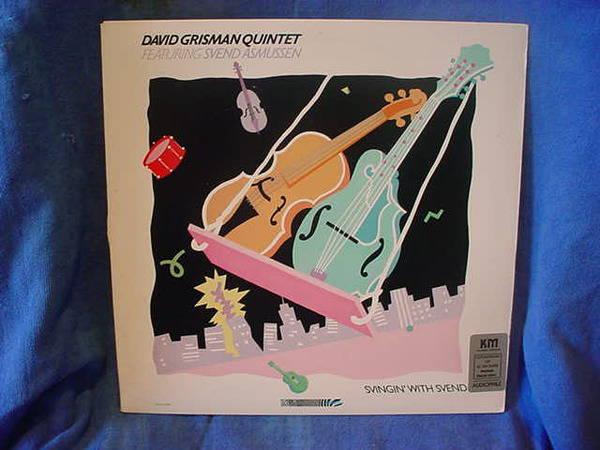 David Grisman Quinte - Sven Asmussen swingin' w/svend  zebra 42108