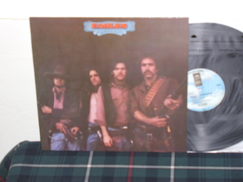 Eagles - Desperado (Pics) GERMAN Import 70's