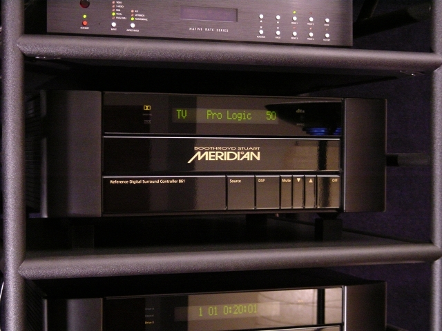 Meridian 861 Digital Processor V2.81