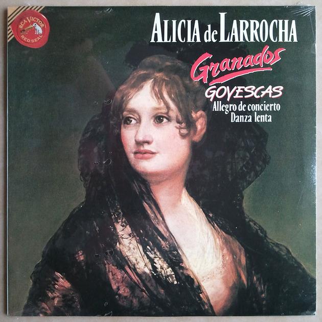 Sealed/RCA/Alicia de Larrocha/Granados - Goyescas, Allegro de concierto, Danza Lenta