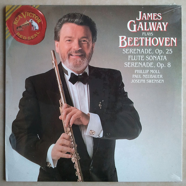 Sealed/RCA/James Galway/Beethoven - Flute Sonata, Serenades Op.25, OP.28