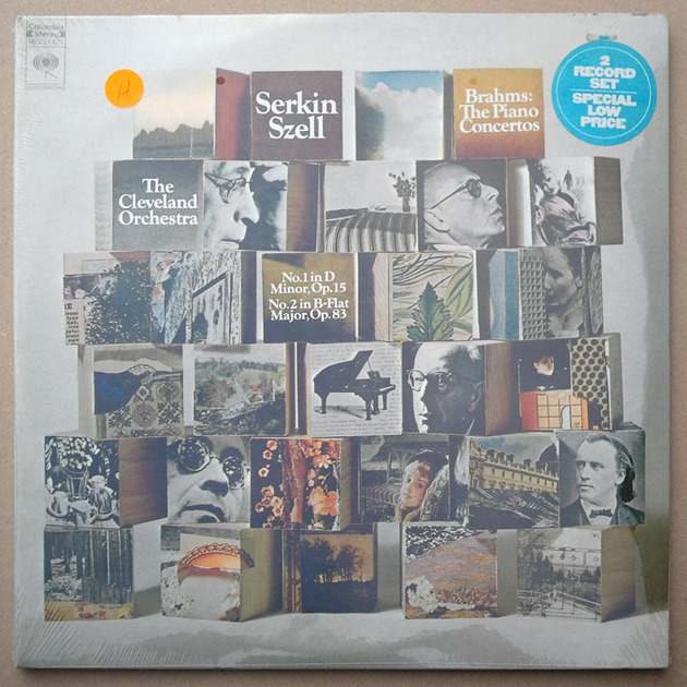 SEALED/Serkin/Szell/Brahms - Piano Concertos Nos.1 & 2  / 2-LP set