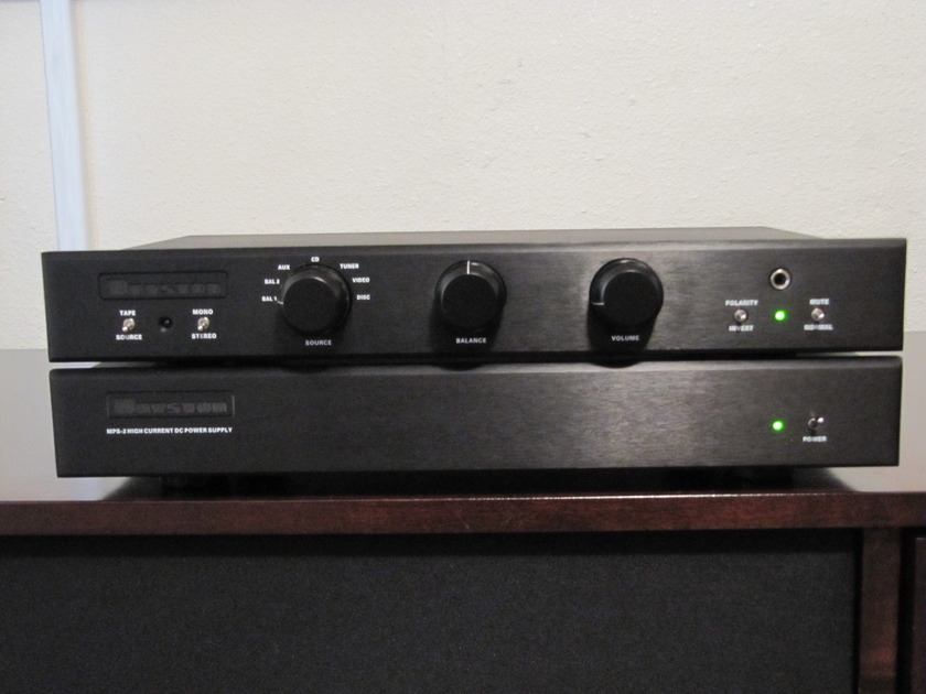 Bryston  BP26 Preamplifier  BLK w/ MPS-2 power supply and  remote