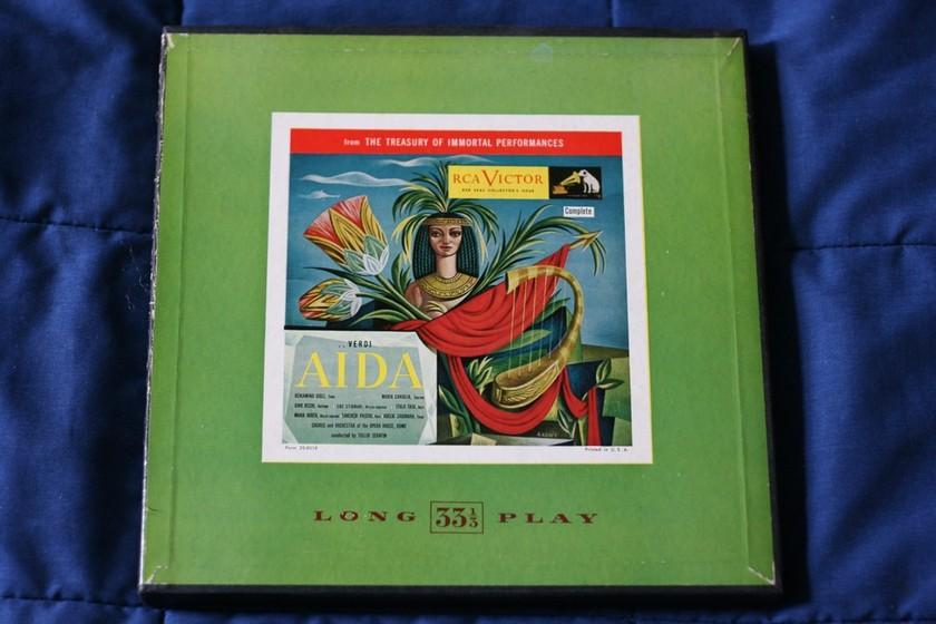 Verdi - Aida RCA Victor LCT 6400